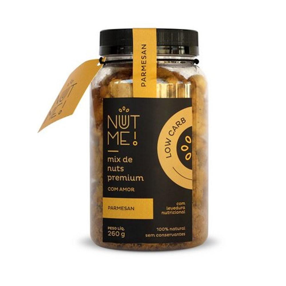Mix de Nuts Premium Parmesan 260g Low Carb - NUT ME  - KFit Nutrition