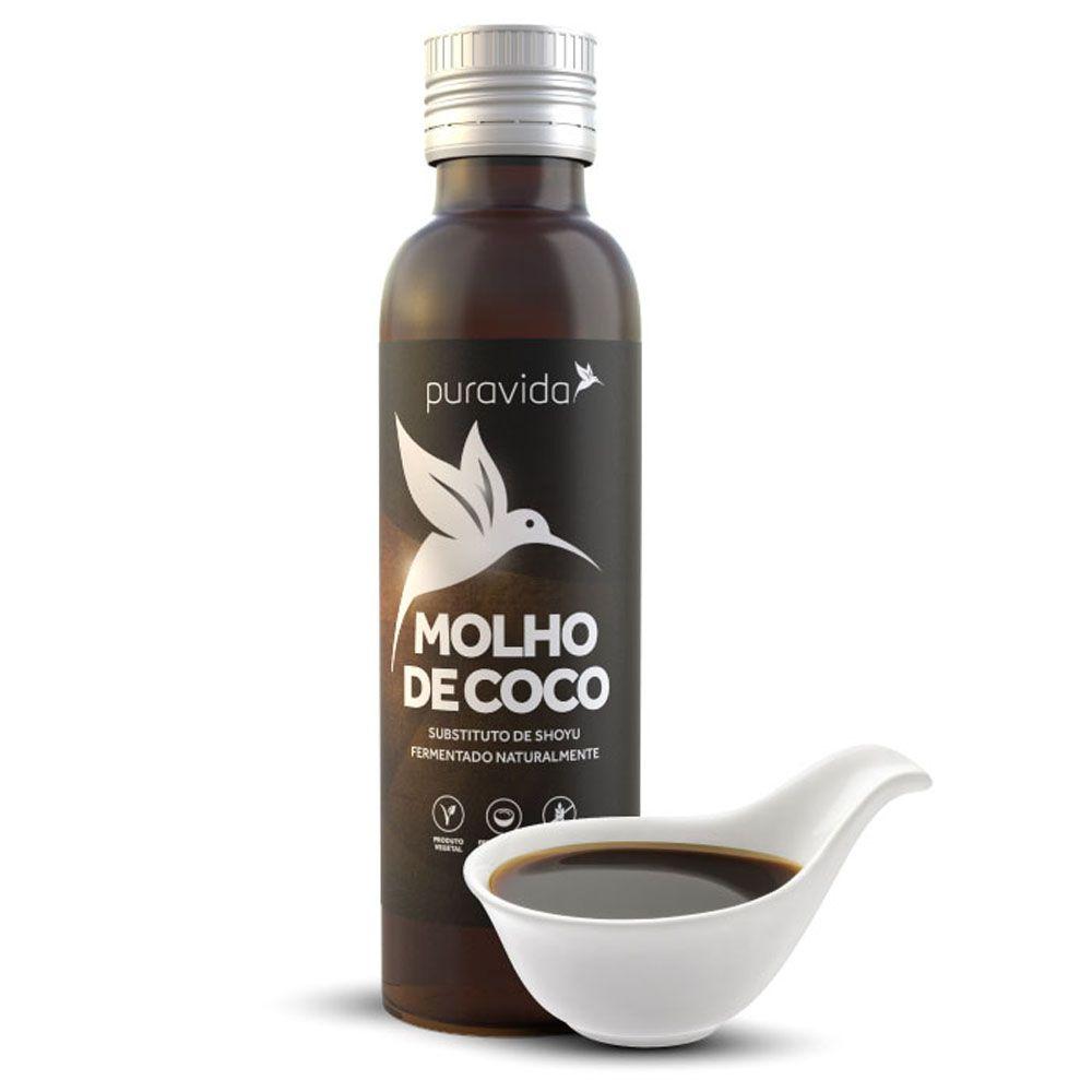 Molho de Coco 300 ml - Puravida  - KFit Nutrition