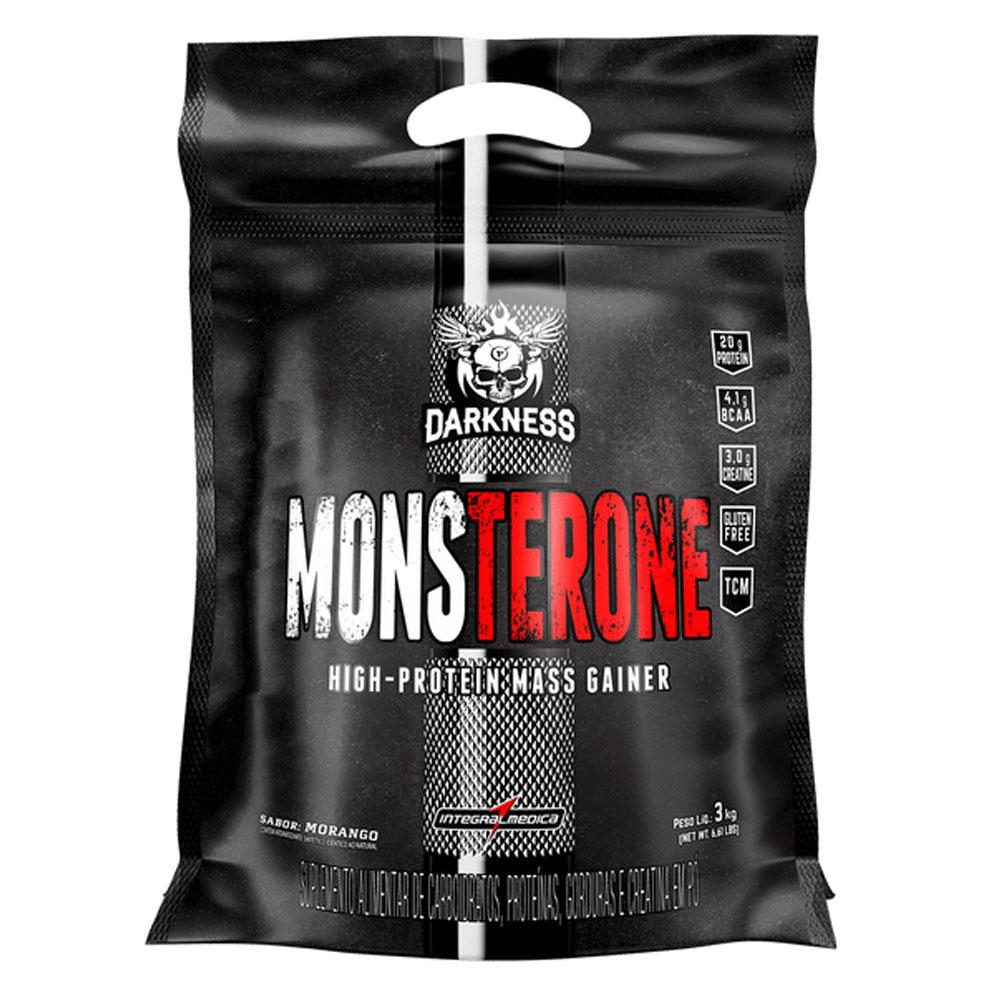 Monsterone Morango 3kg - Darkness  - KFit Nutrition