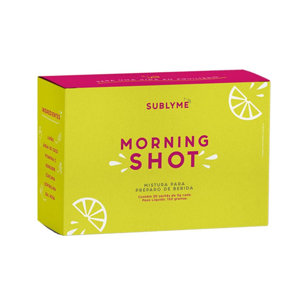 Morning Shot 30 Sachês - Sublyme  - KFit Nutrition