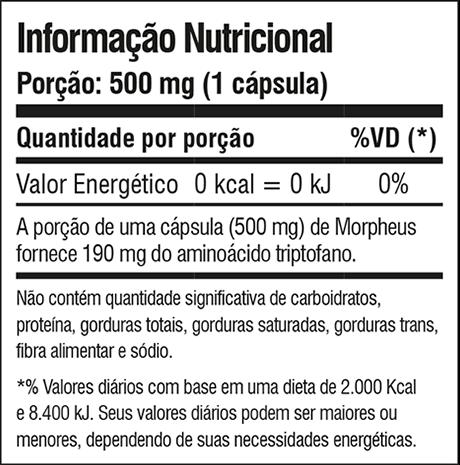 Morpheus Night Assist 60 Capsulas - Iridium Labs  - KFit Nutrition