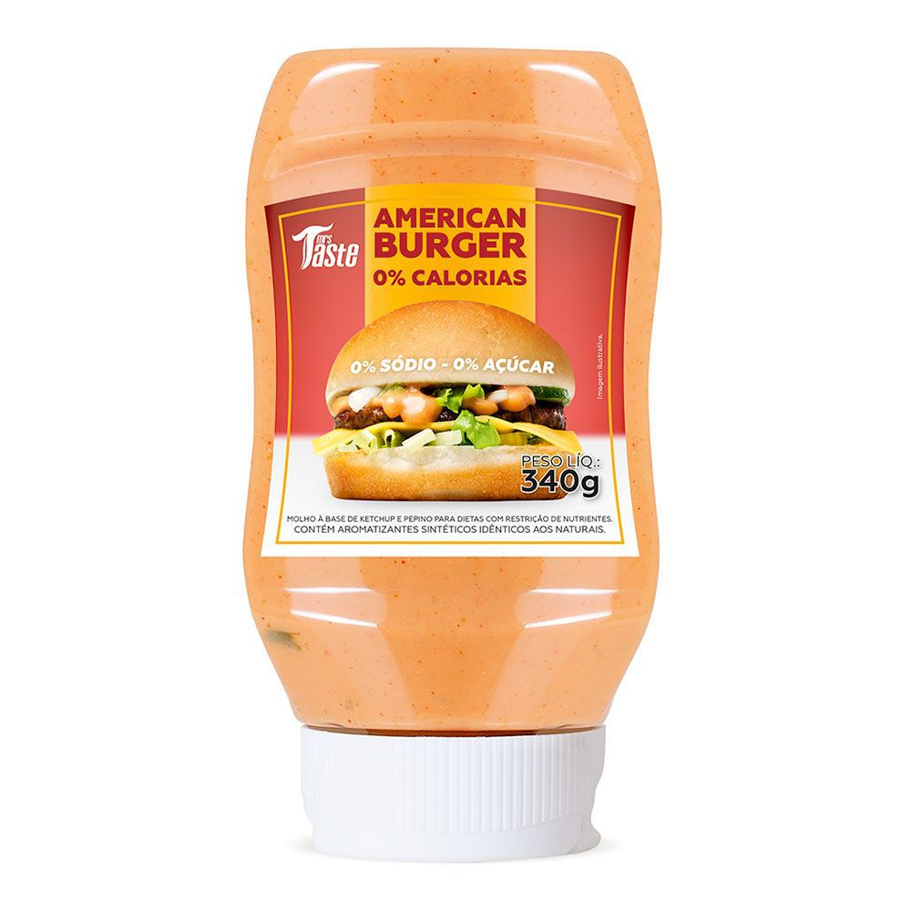 Molho American Burger Mrs Taste  - KFit Nutrition