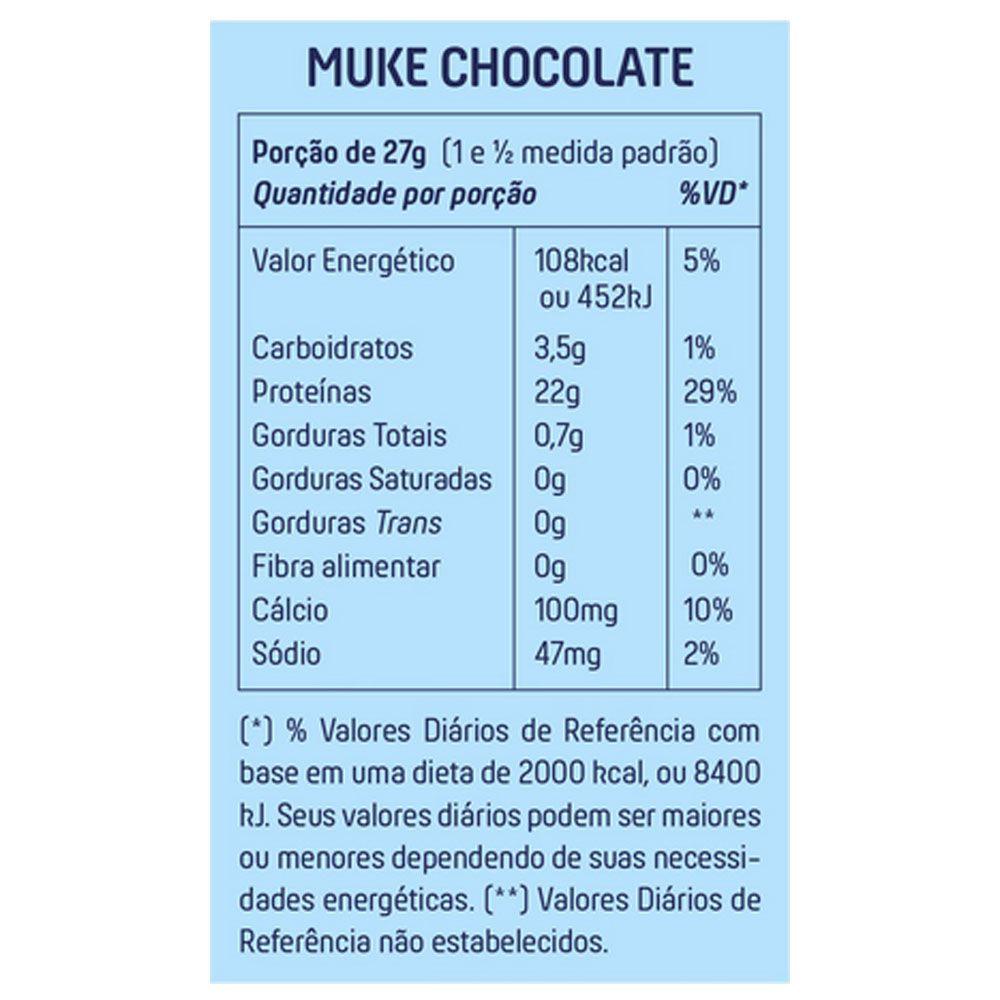 Muke Chocolate Refil 900 g Mais Mu  - KFit Nutrition