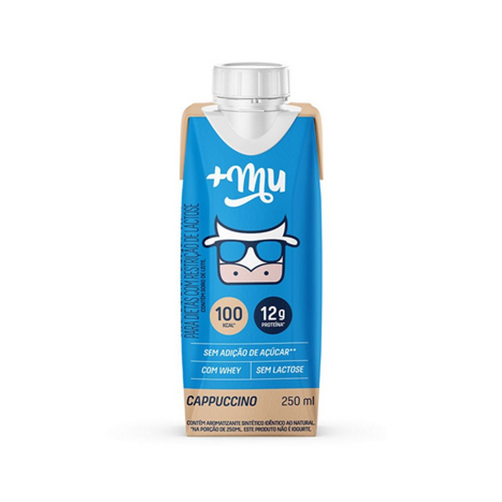 Muke Pronto Cappuccino 250ml - Mais Mu  - KFit Nutrition