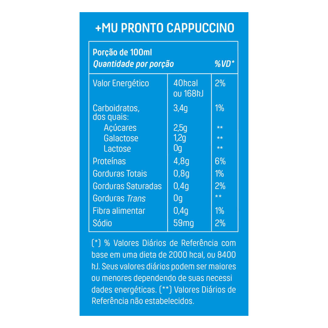 Muke Pronto Chocolate 250ml - Mais Mu  - KFit Nutrition