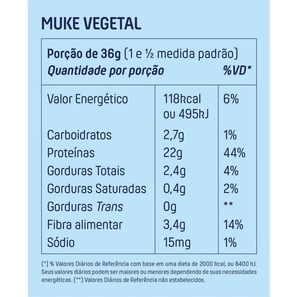 Muke Proteina Vegetal Banana Com Canela 450g Mais Mu  - KFit Nutrition