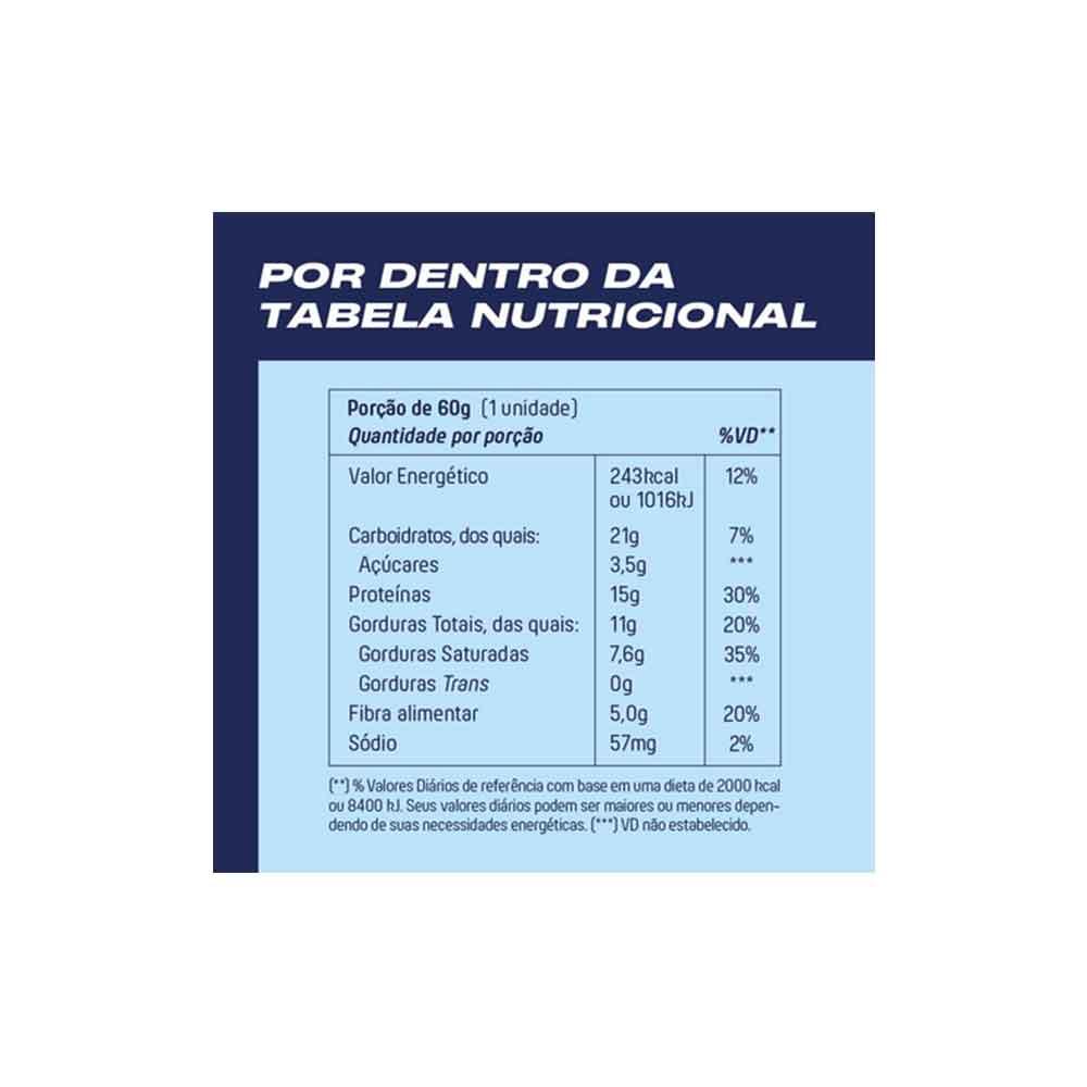 Mukebar Pão de Mel 60g - Mais Mu  - KFit Nutrition