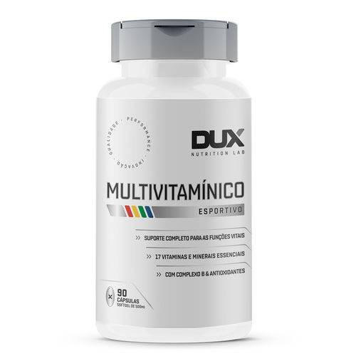 Multivitamínico 90 cápsulas - Dux  - KFit Nutrition