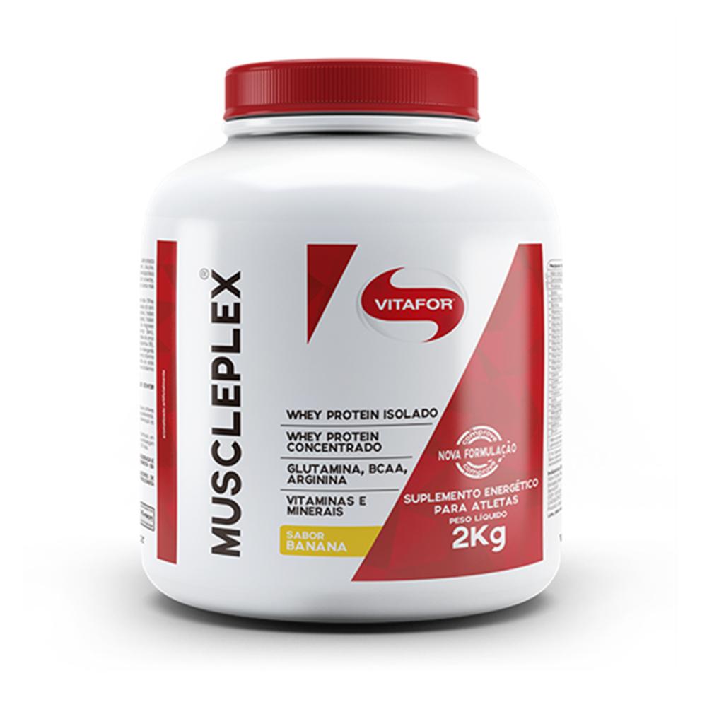 Muscleplex Banana 2kg  Vitafor  - KFit Nutrition