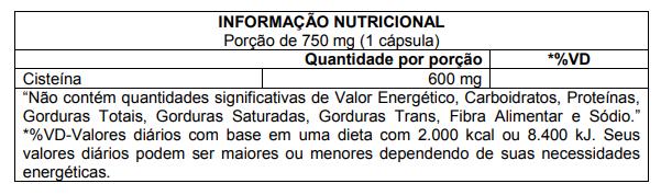 NAC 600mg 60 Caps Atlhetica Nutrition  - KFit Nutrition