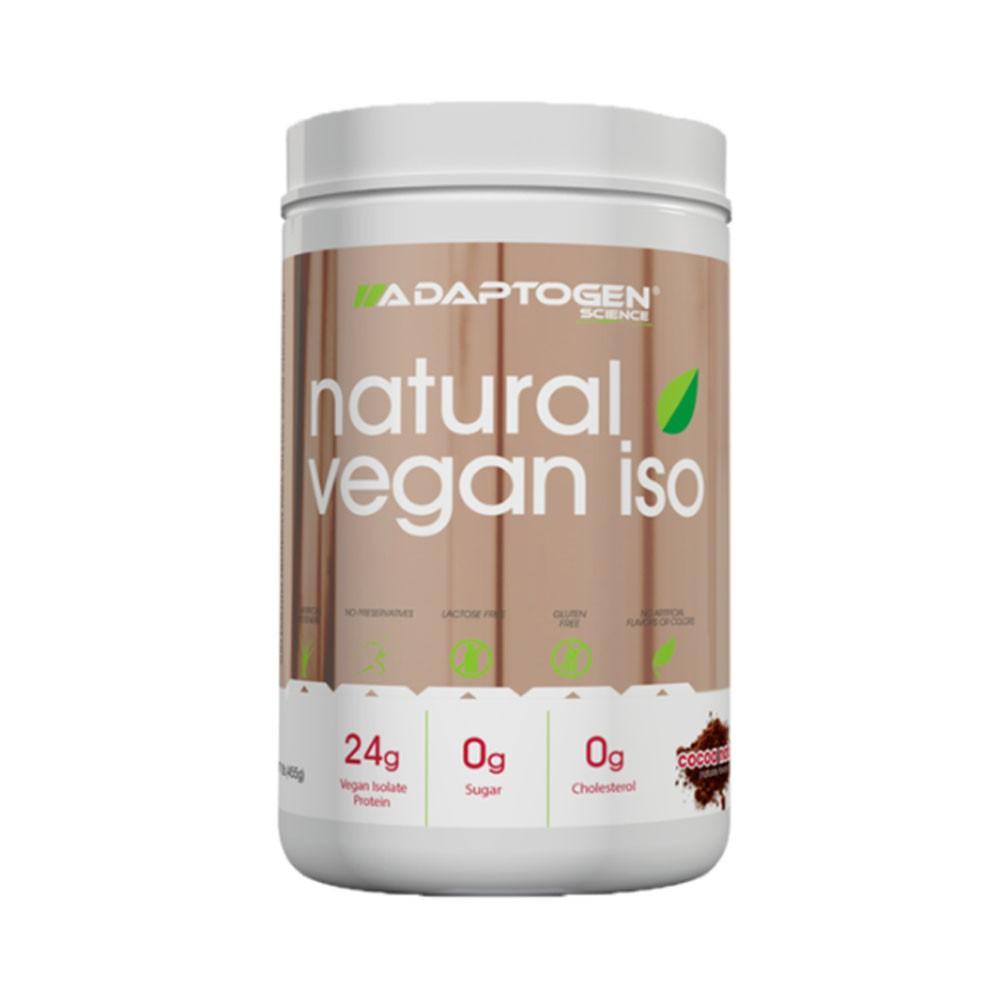 Natural Vegan ISO Cocoa Natural 455g - Adaptogen  - KFit Nutrition