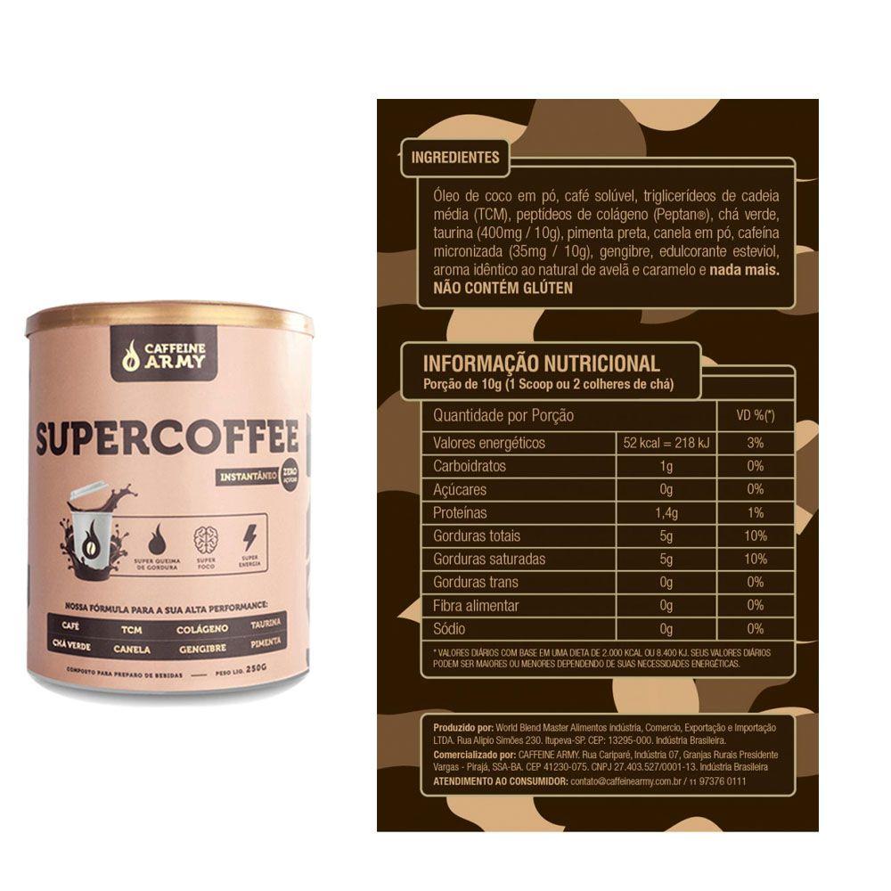 Nectar 907g caramel Macchiato Syntrax + Supercoffee 2.0 220g  - KFit Nutrition