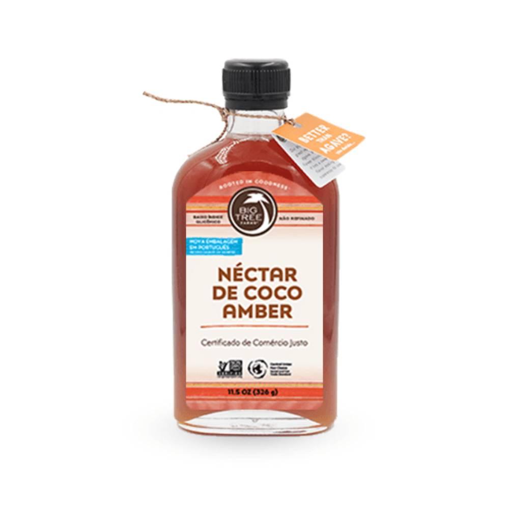 Néctar de Coco Amber 326g Big Tree Farms  - KFit Nutrition