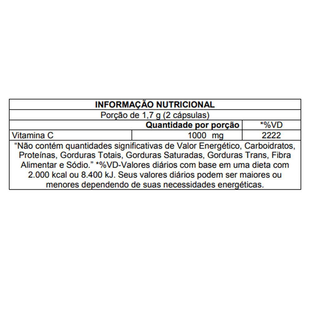 Vitamina C - Neutra C 1000mg 60 Caps Atlhetica Nutrition  - KFit Nutrition