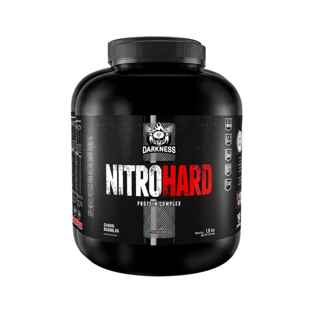 Nitro Hard 1.8Kg Baunilha - Darkness  - KFit Nutrition