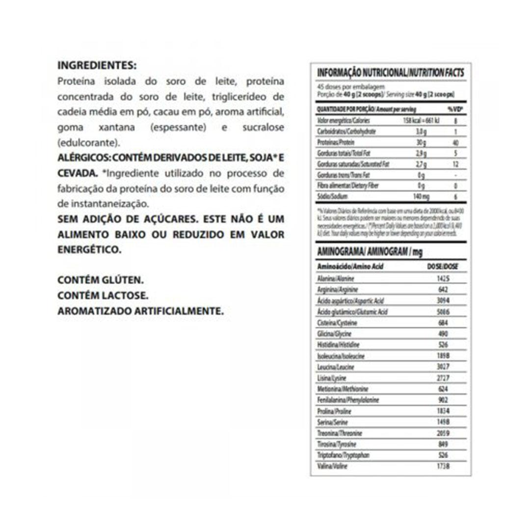 Nitro Hard 1.8Kg Integral Medica Choc com Amendoim  - KFit Nutrition
