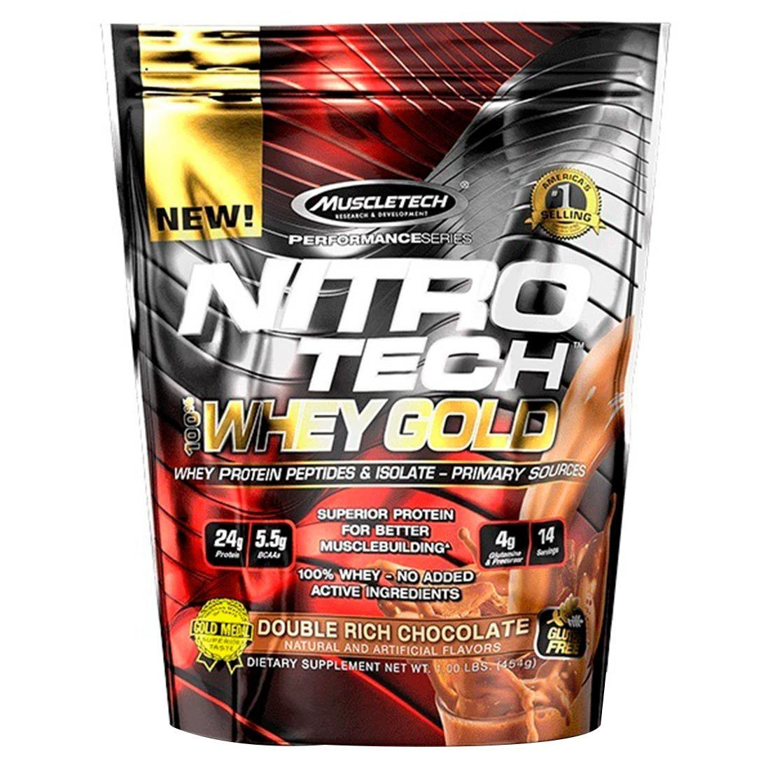 Nitro Tech 454G Muscletech  - KFit Nutrition