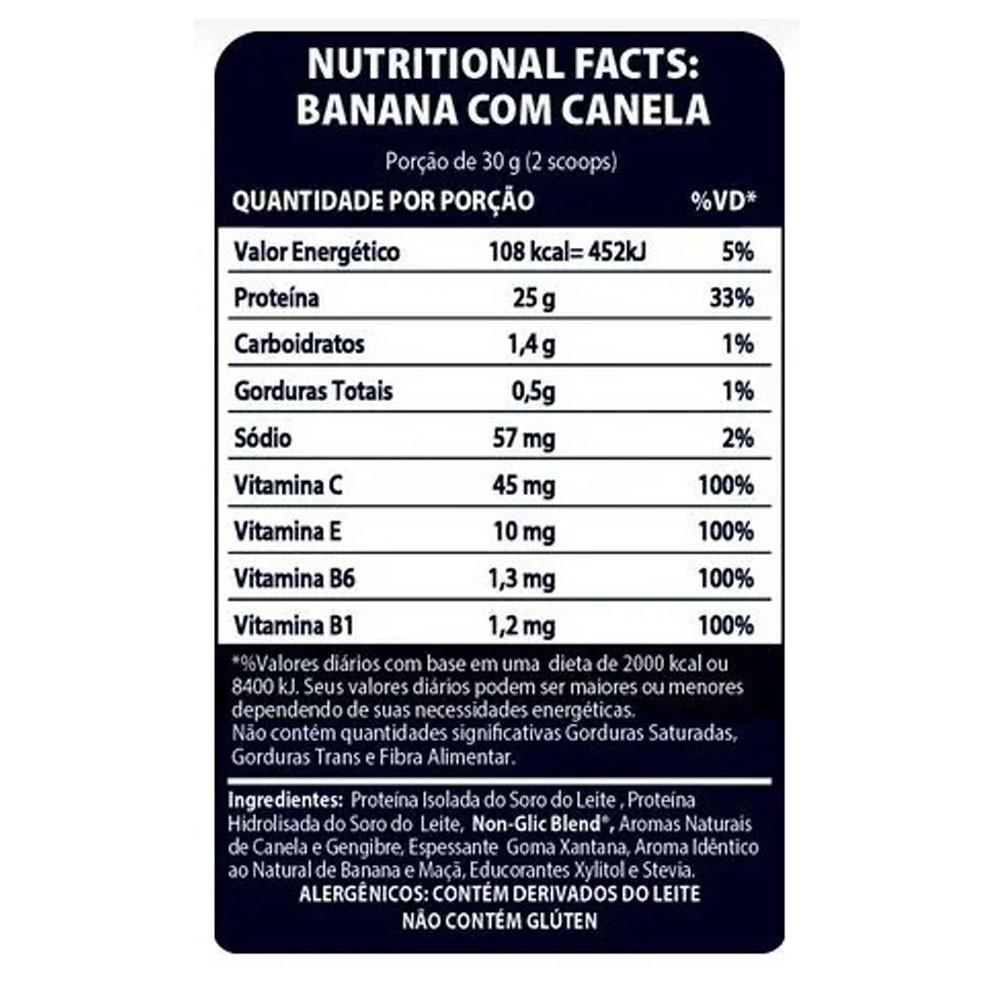 Non Glic Whey Banana com Canela 450g - Be Lean  - KFit Nutrition