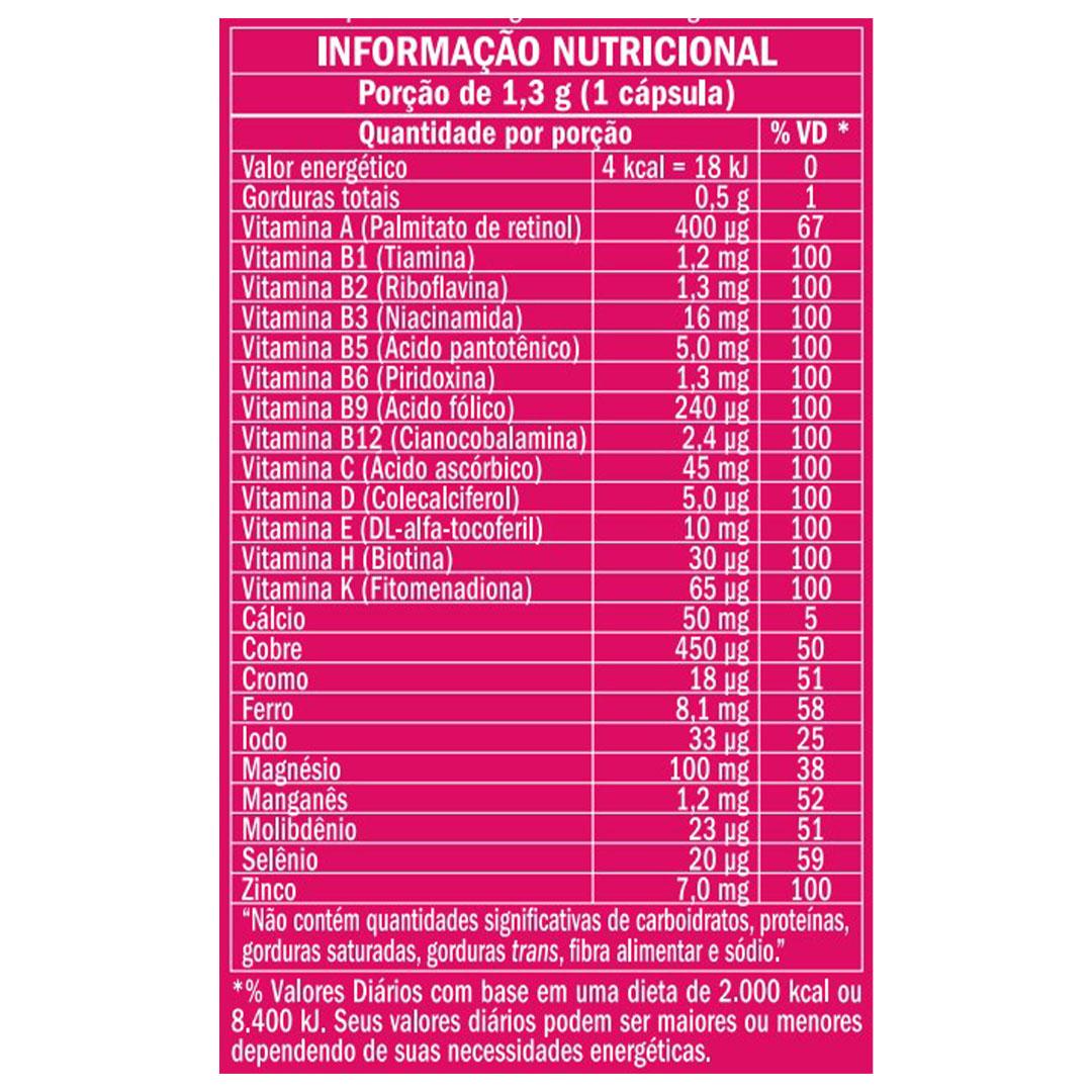 Nutri Mulher 60 Cáps em Gel - Equaliv  - KFit Nutrition
