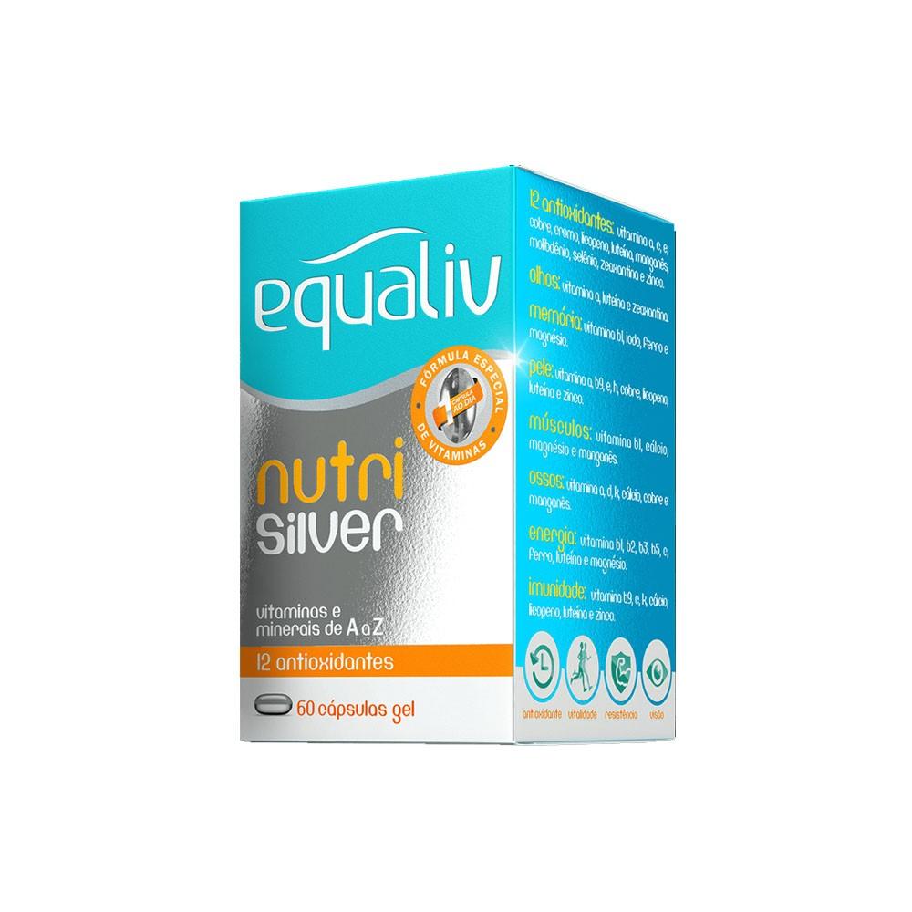 Nutri Silver 60 Cáps em Gel - Equaliv  - KFit Nutrition
