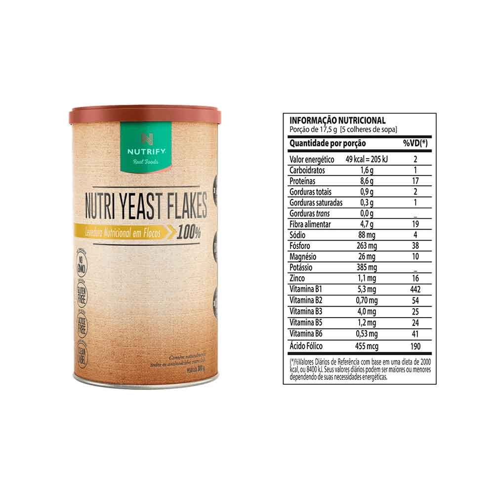 Nutri Yeast Flakes 300g - Nutrify  - KFit Nutrition