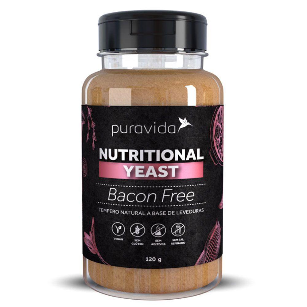 Nutritional Yeast Bacon Free 120g Puravida  - KFit Nutrition