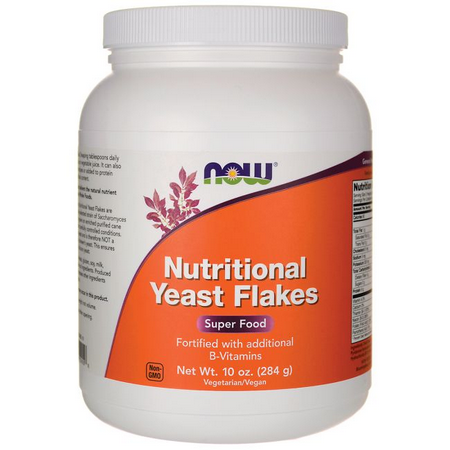 Nutritional Yeast Flakes 284G Now Sports  - KFit Nutrition