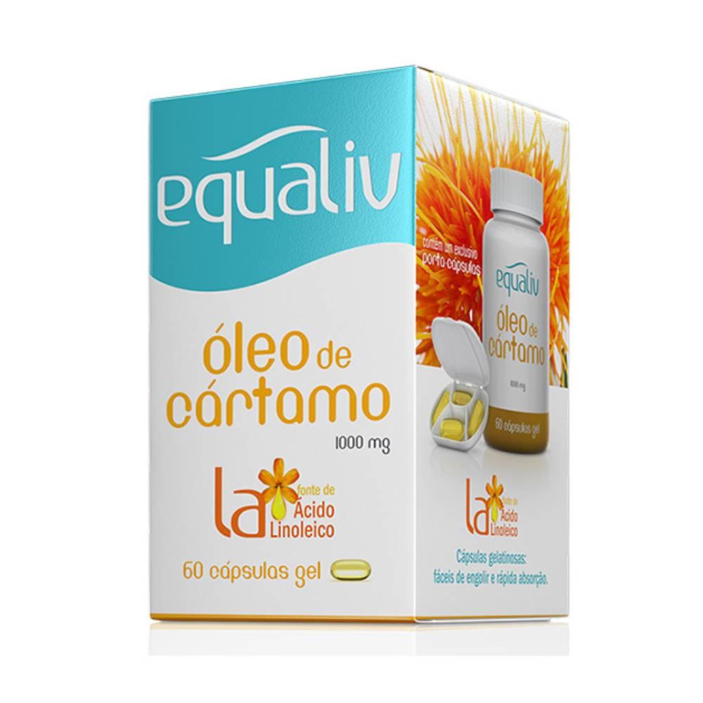 Óleo de Cártamo Equaliv 60 Cápsulas  - KFit Nutrition