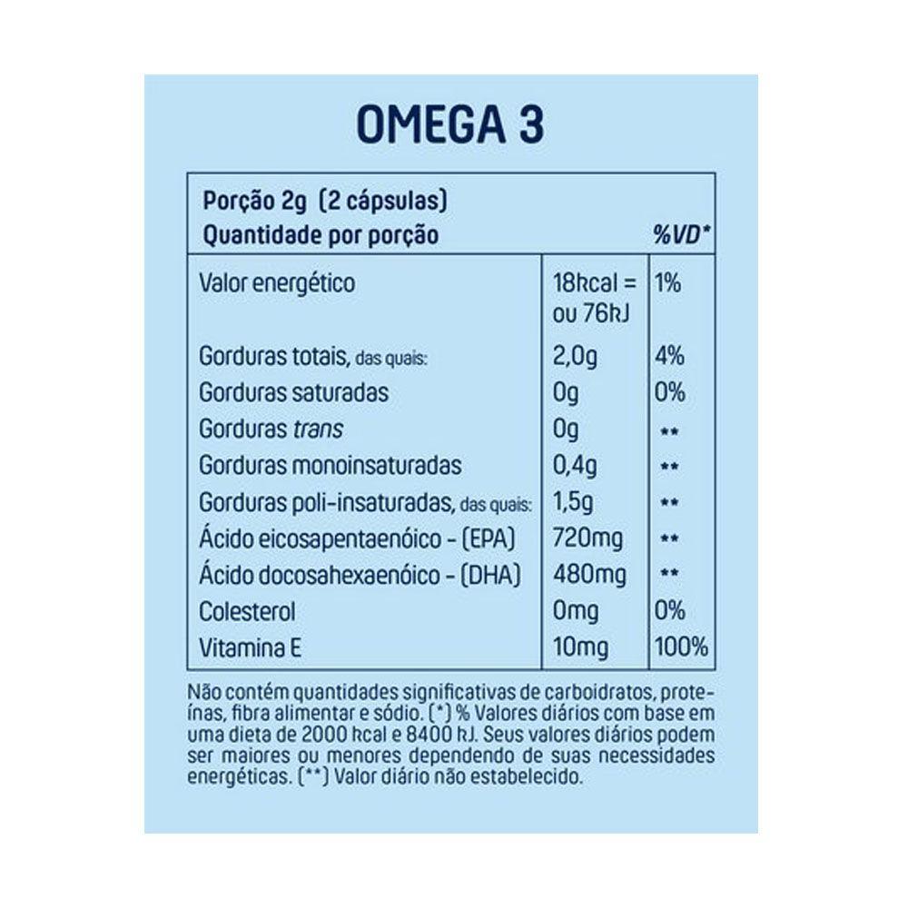 Ômega 3 60 Cáps - Mais Mu  - KFit Nutrition