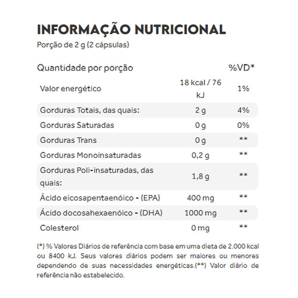 Ômega 3 DHA 60 Cáps - Puravida  - KFit Nutrition