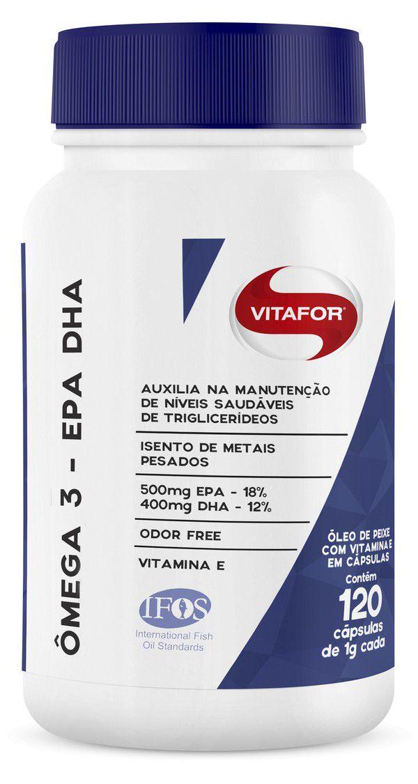 Omega 3 - EPA e DHA Vitafor  - KFit Nutrition