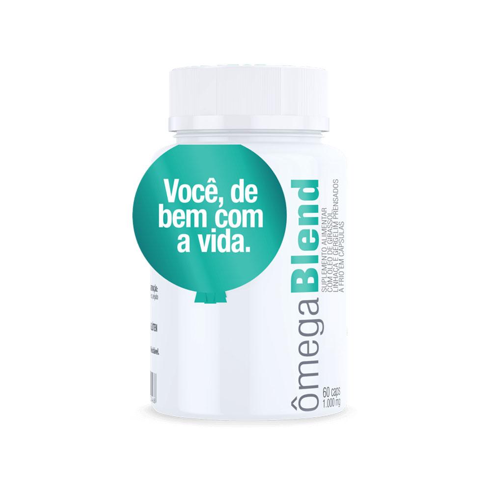 Ômega Blend 60 Caps - Vital Âtman  - KFit Nutrition