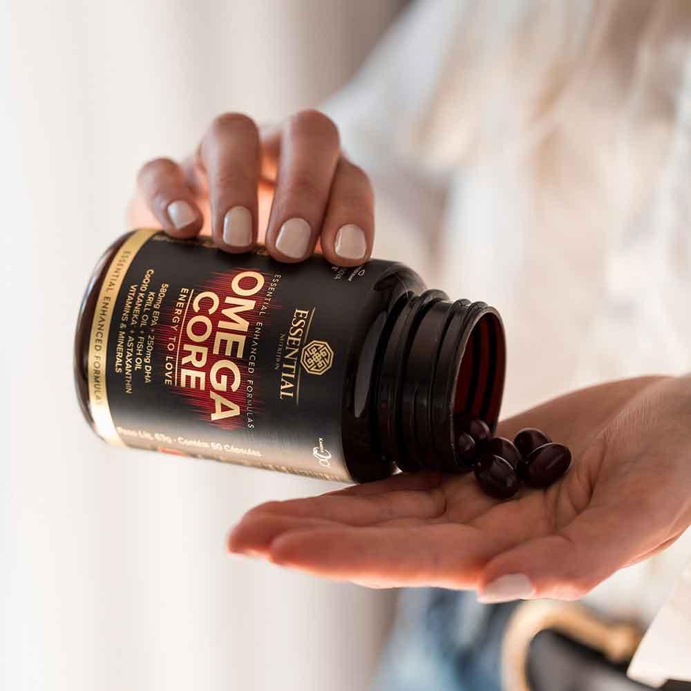 Omega Core 60 Caps - Essential  - KFit Nutrition