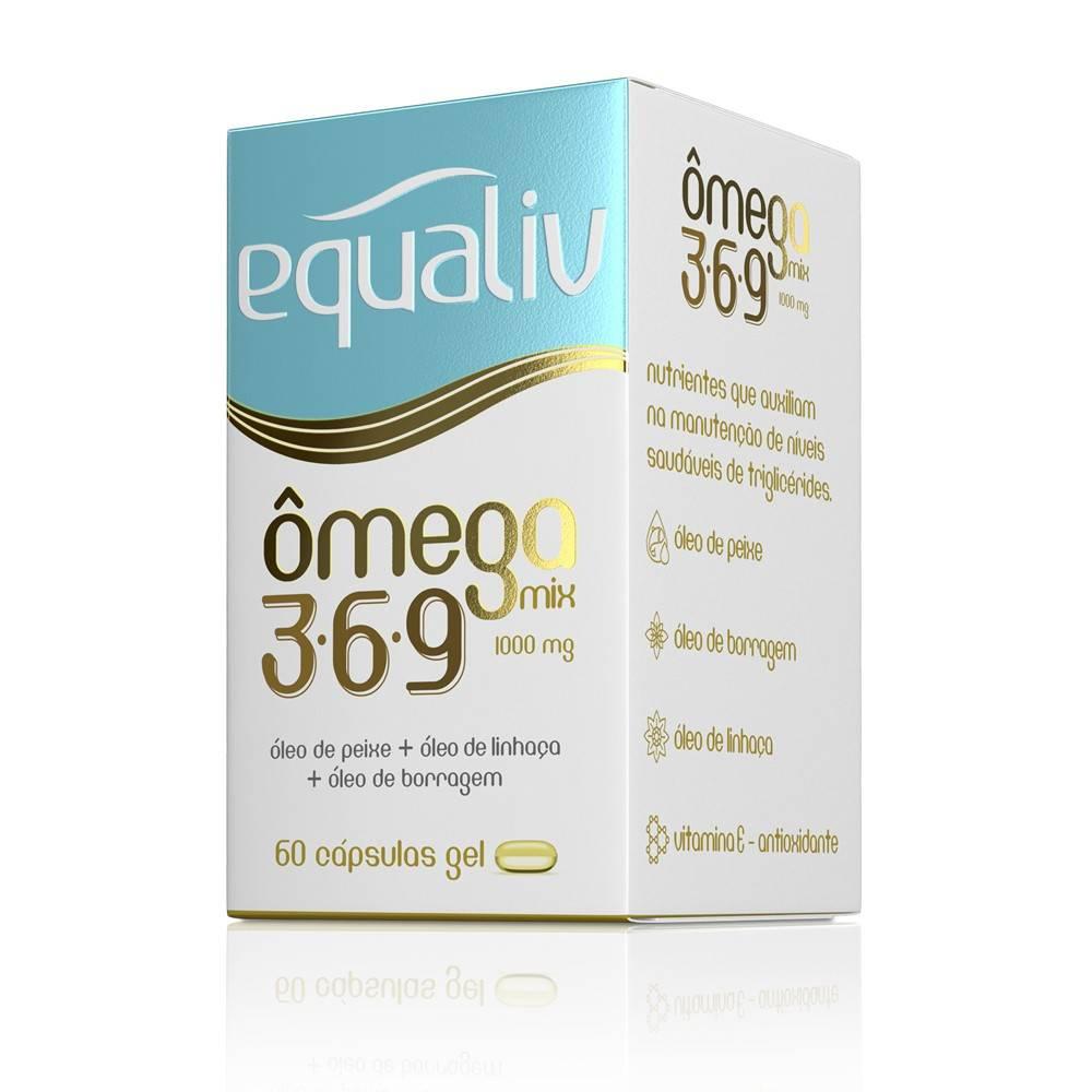 Ômega Mix 3.6.9 Equaliv 60 Cápsulas  - KFit Nutrition
