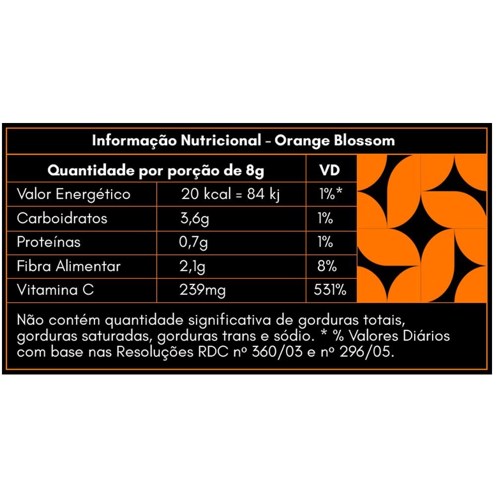 Orange Blossom Mighty Shots 14g contém 7un - Gaea Elementals  - KFit Nutrition