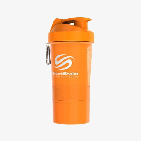 Original 2Go 600Ml - Neon Orange SmartShake  - KFit Nutrition