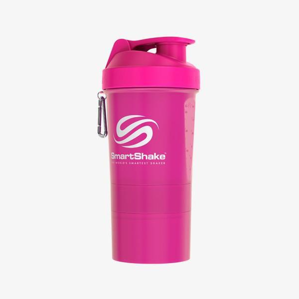 Original 2Go 600Ml - Neon Pink SmartShake  - KFit Nutrition