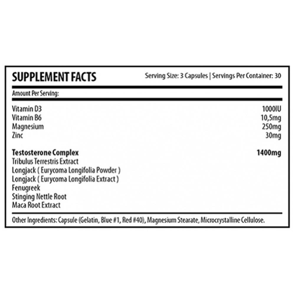 Osterine Dragon 90 caps Demons Lab  - KFit Nutrition