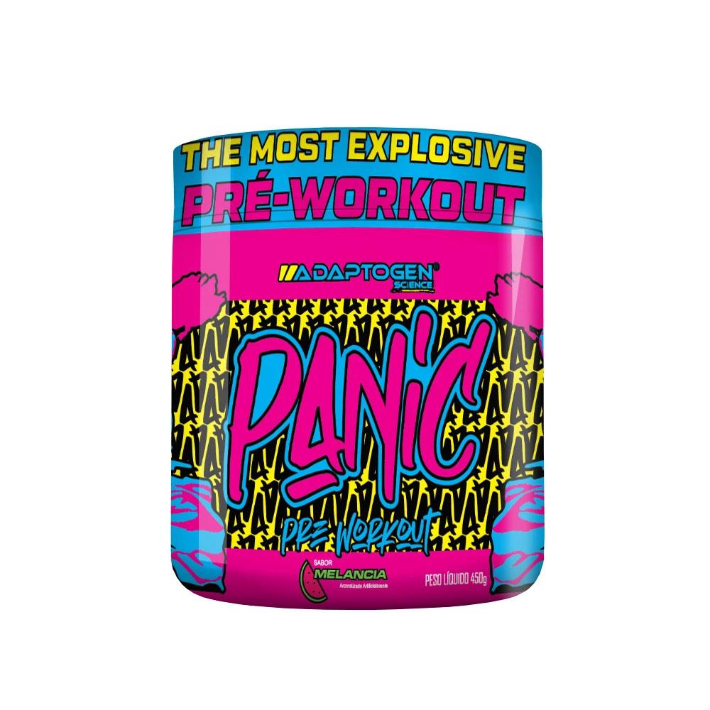 Panic Pre-Workout 450g Melancia - Adaptogen  - KFit Nutrition