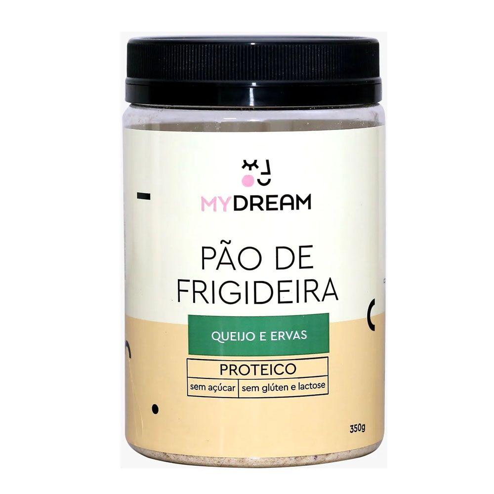 Pão de Frigideira Queijo e Ervas 350g - Mydream  - KFit Nutrition