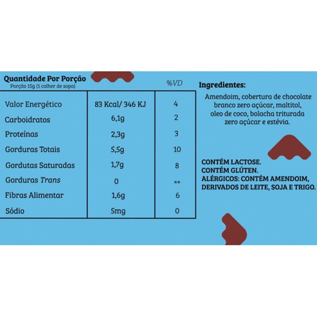 Pasta Amendoim Cookie 450g  Bendú  - KFit Nutrition