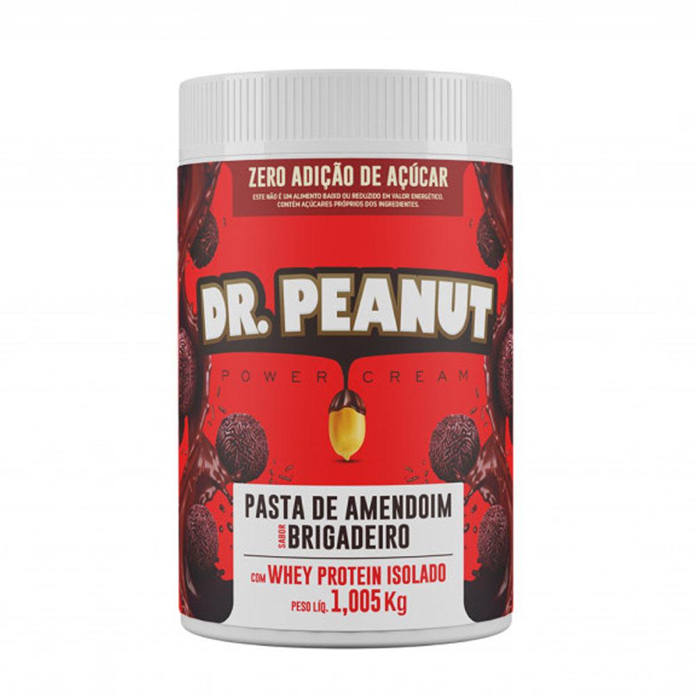 Pasta de Amendoim c/ Whey Isolado Brigadeiro 1kg - Dr Peanut  - KFit Nutrition