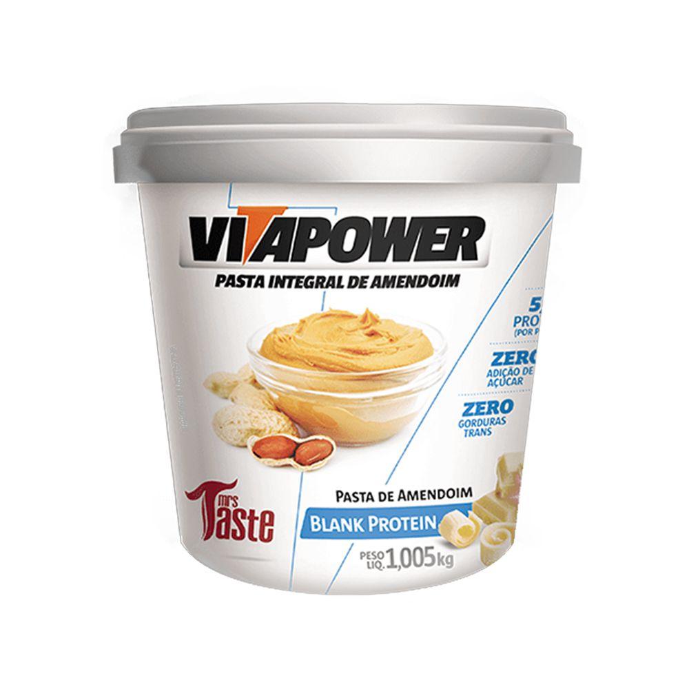 Pasta de Amendoim 1kg Blank Vita Power  - KFit Nutrition