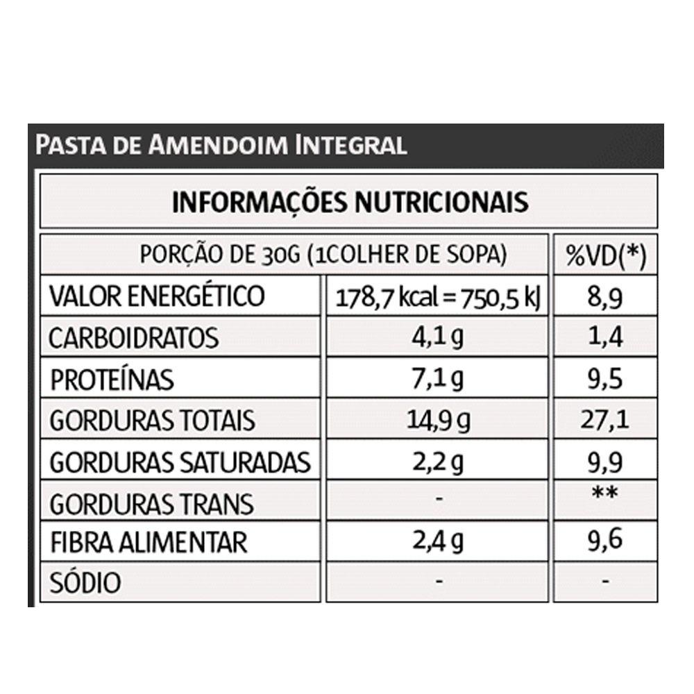 Pasta de Amendoim 1kg Integral - Vita Power  - KFit Nutrition