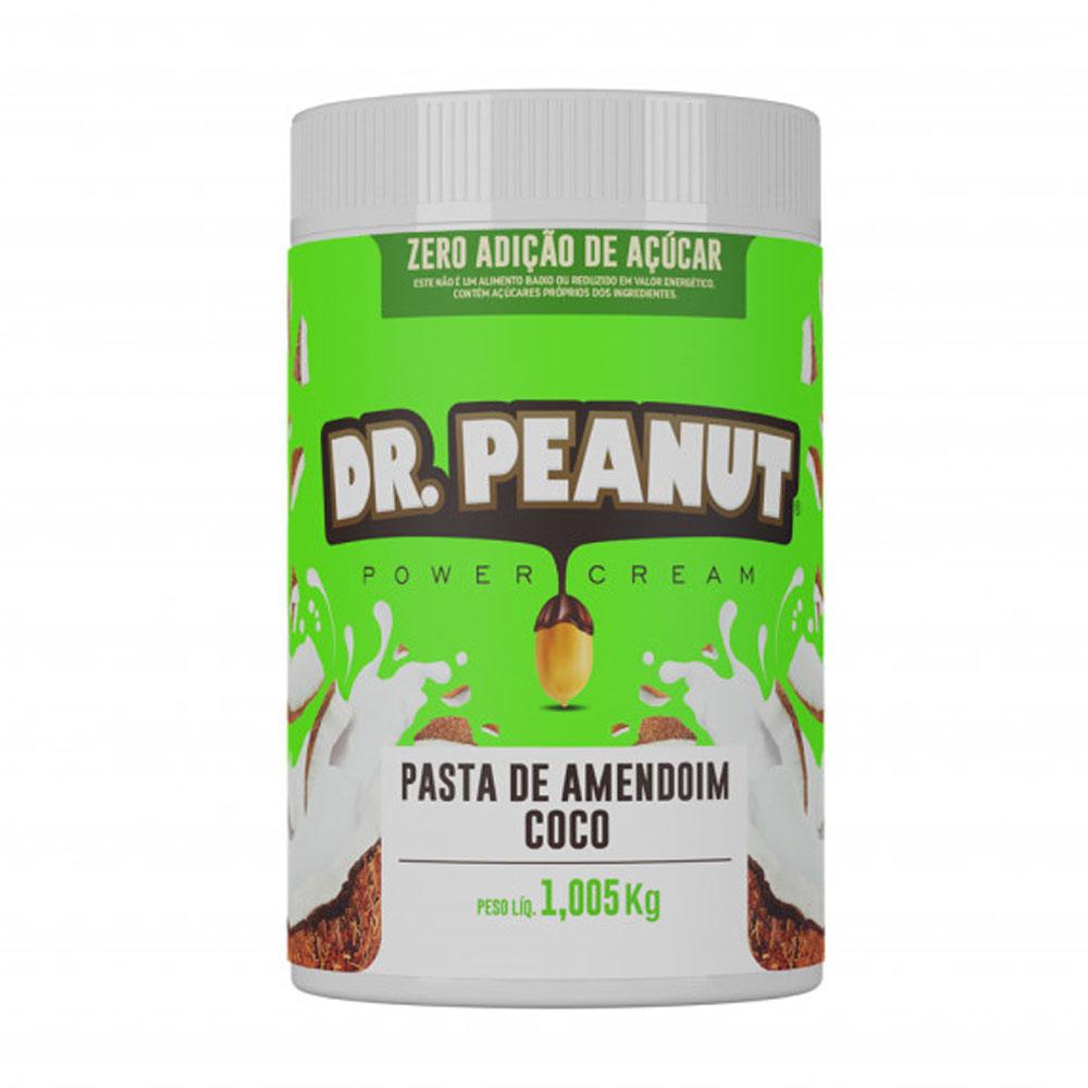 Pasta de Amendoim Coco 1kg - Dr Peanut  - KFit Nutrition