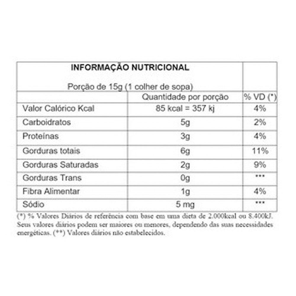 Pasta de Amendoim Integral 500g C/ Mel Choc Branco Crocante  - KFit Nutrition