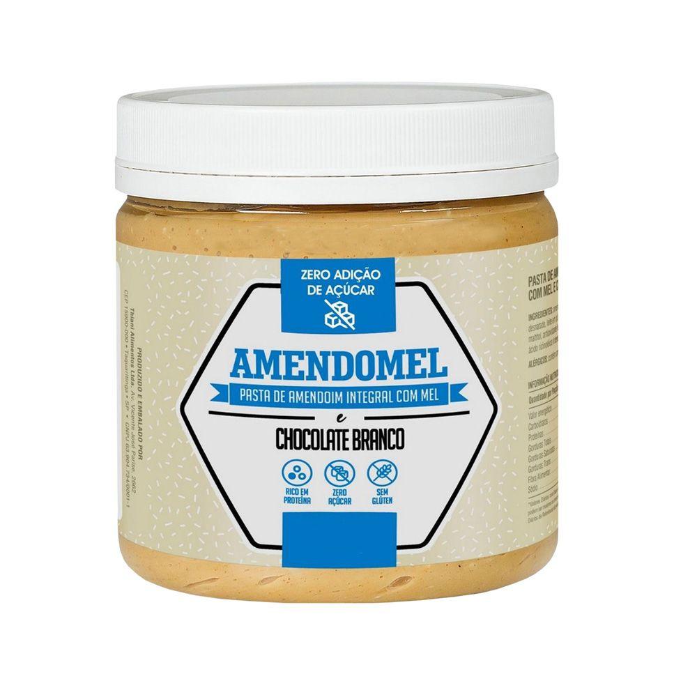 Pasta de Amendoim Integral Com Mel e Chocolate Branco 1Kg  - KFit Nutrition