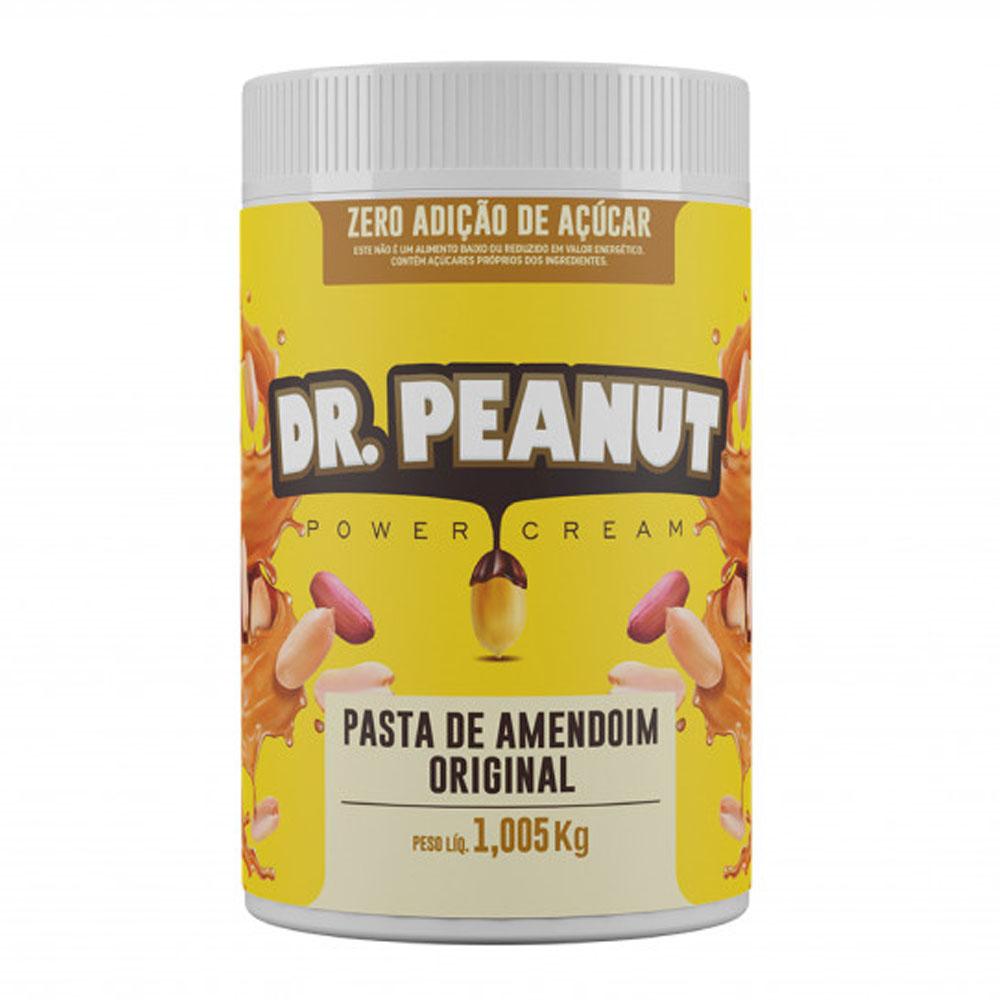 Pasta de Amendoim Original 1kg - Dr Peanut  - KFit Nutrition