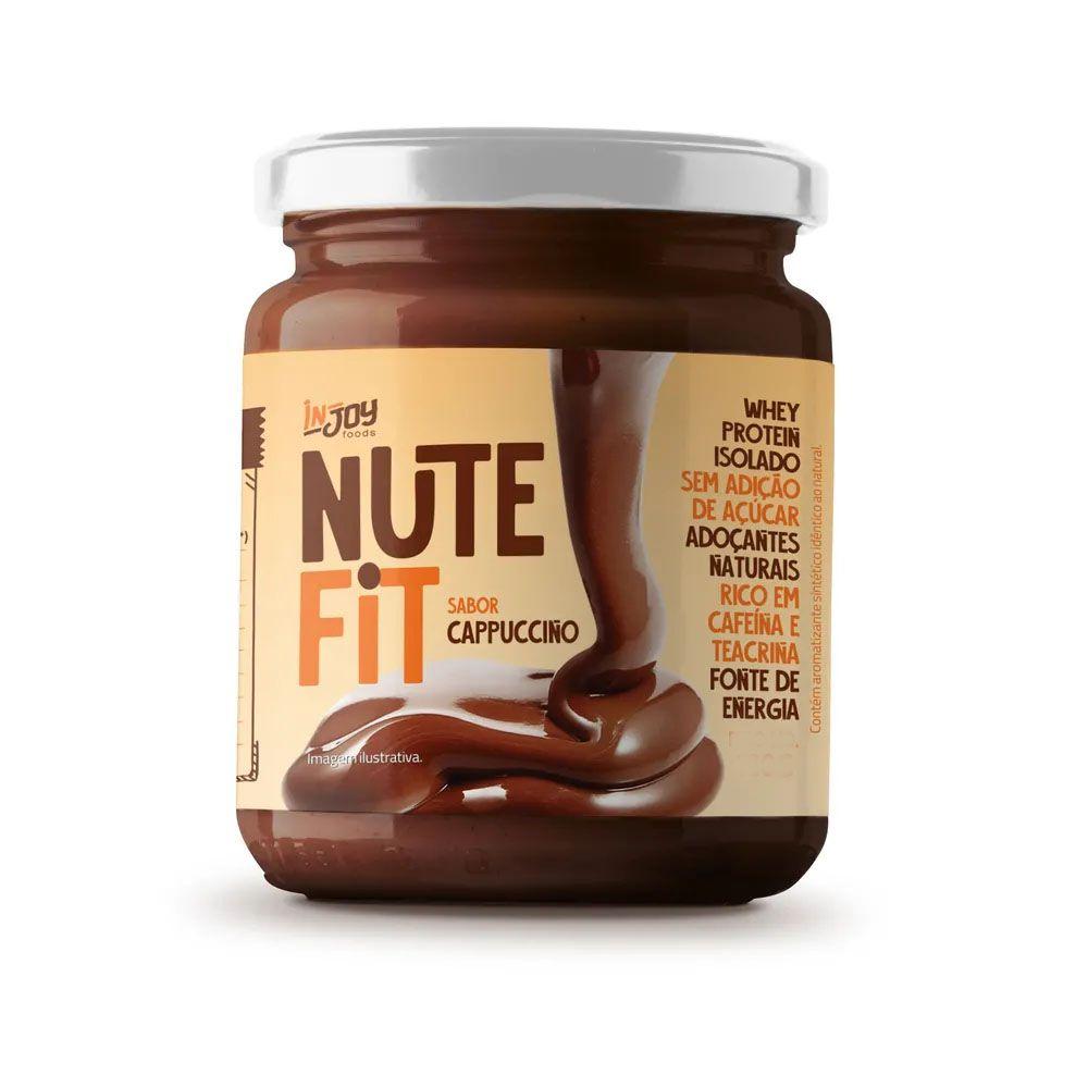Pasta de Café com Cupuaçu Cappucino 180g Nute Fit - Injoy  - KFit Nutrition