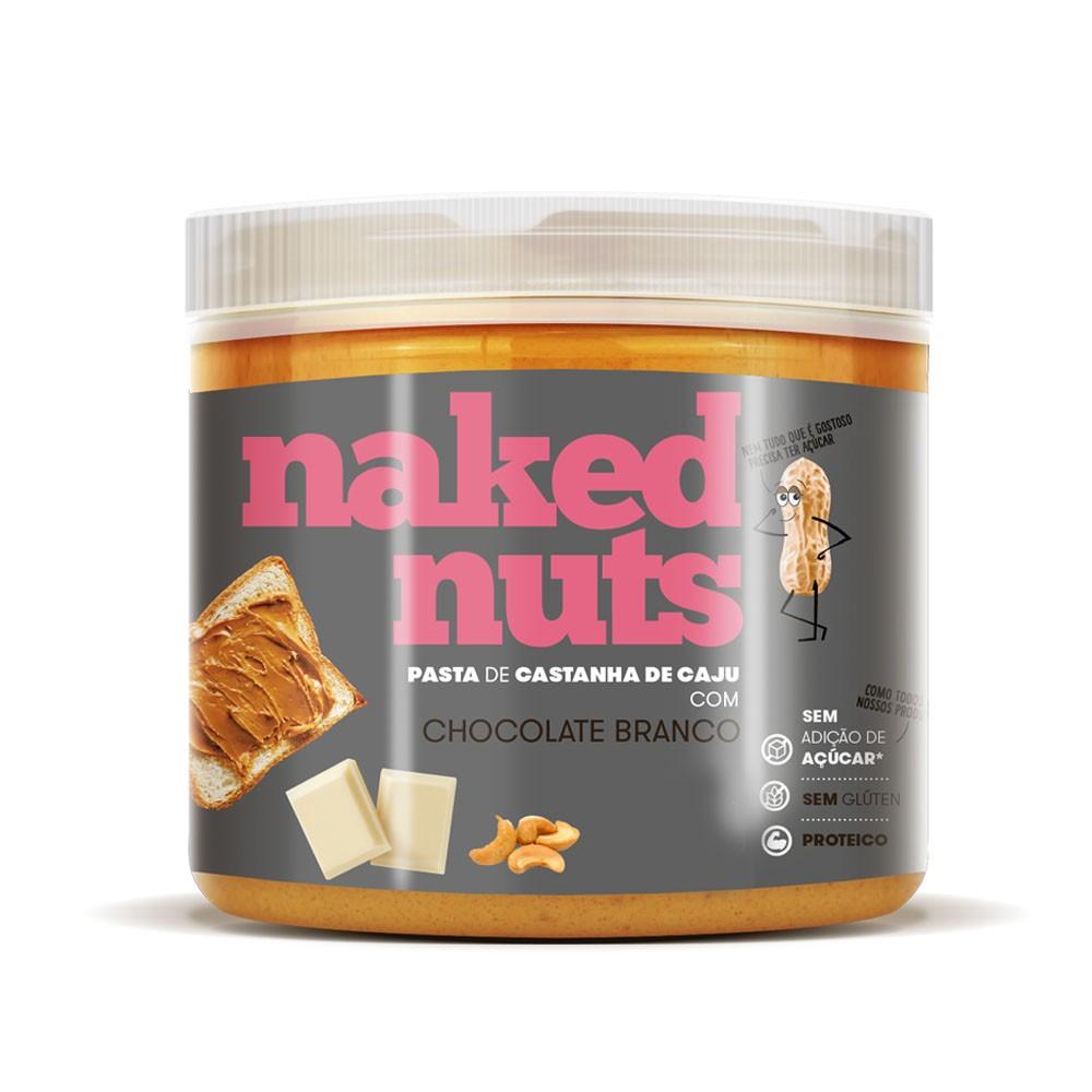 Pasta de Castanha de Caju com Choc Branco 450g - Naked Nuts  - KFit Nutrition